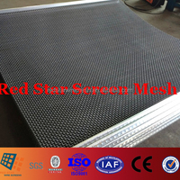 1-12.7mm High Carbon Steel Wire Woven Wire Mesh Cloth for Vibrating Screens