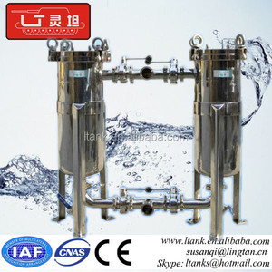 Stainless Steel /oil Liquid Bag Filter Housing , Bag Filter Equipment