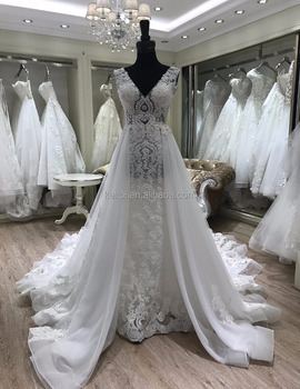 2017 Beautiful Lace Mermaid Wedding Dress China - Buy Lace Wedding ...