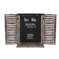 Factory Direct Price Hanging Natural Black slate chalk board