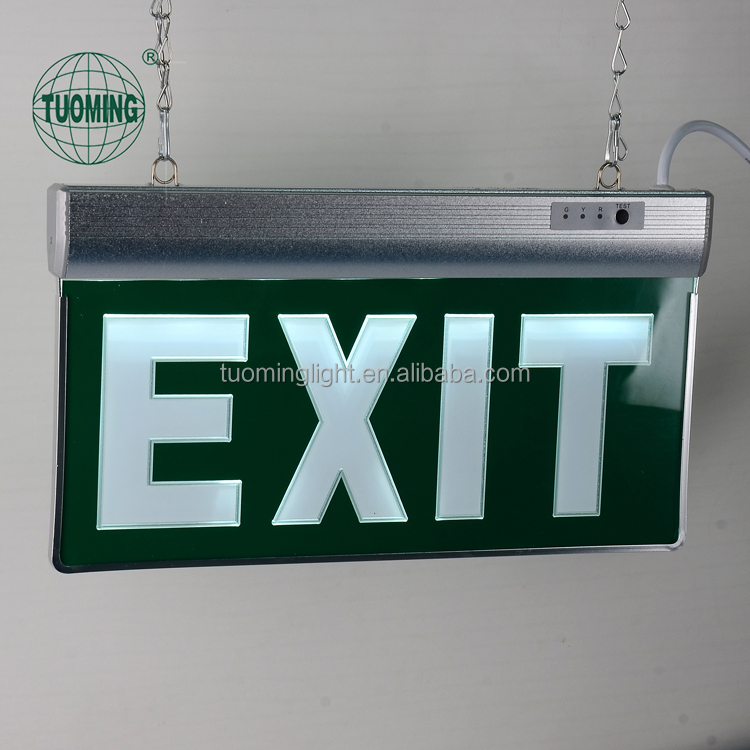 Wide Voltage Ac85-265v Exit Sign Light Board/fire Exit Light/led Emergency  Running Man Exit Sign - Buy Fire Exit Light,Led Emergency Running Man Exit