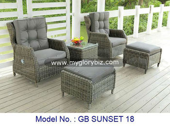 Admirable Antique Rattan Cushioned Relaxer Chair Outdoor Furniture Rattan Set Classic Design Garden Chair With Stool Set Buy Rattan Sofa Set Outdoor Furniture Creativecarmelina Interior Chair Design Creativecarmelinacom