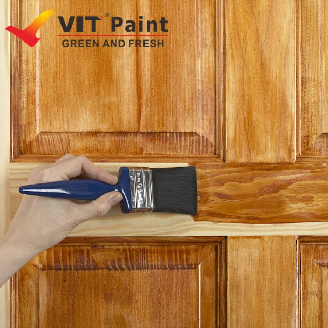 Vit Outdoor Wood Floor Paint Protective Coating Transpa