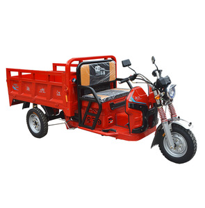 150CC Gasoline moped cargo commercial tricycle