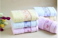 100% Cotton Solid color bamboo towels Large Bath Sheet Bath Towel Hand cheap Towel Face