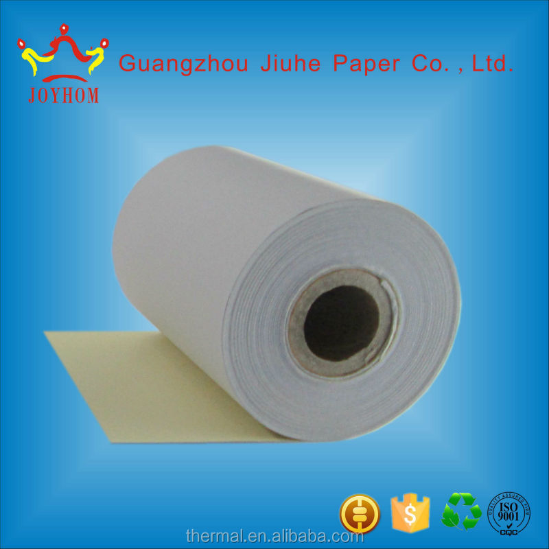 2-ply continuous NCR paper 76mm for continuous form printing machine