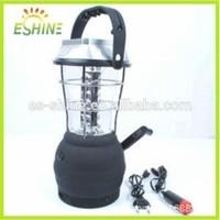 36 LED solar lantern with mobile phone charger led solar motion light