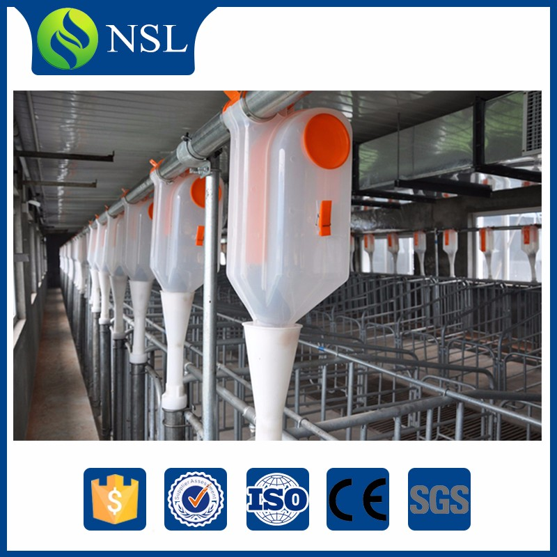 Plastic Economic Drop Feed Dispenser Feeders For Pigs