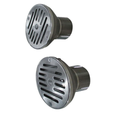 304 Stainless steel swimming pool water return /drain inlet pool fitting on sale