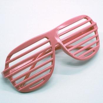c0972932ba 2018Fancy party plastic 80s style shutter shades sunglasses no lens clip  art window glasses HY006