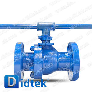 Didtek Flow Control Cast Steel Oil Pipeline Ball Valve