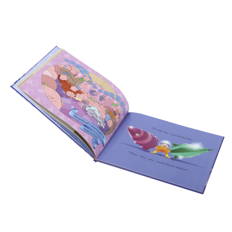 High quality children hardcover book printing , kids hard cover book