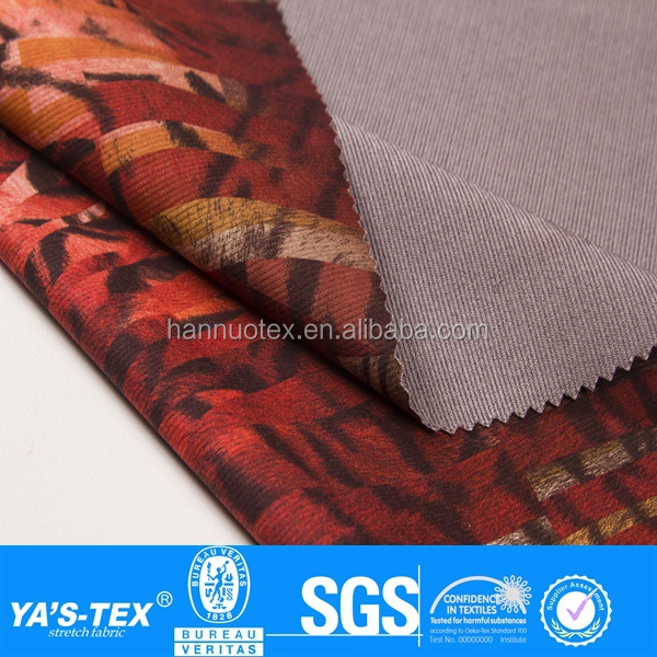China textile printed waterproof jacket 100% polyester fabric for wholesale