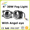 New Products Auto Drl Daytime Running 30W 4 Inch Led Fog Light/fog Lamp/car Driving Light