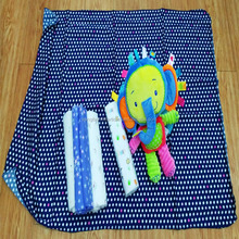New Design Baby cartoon swaddle blanket organic cotton