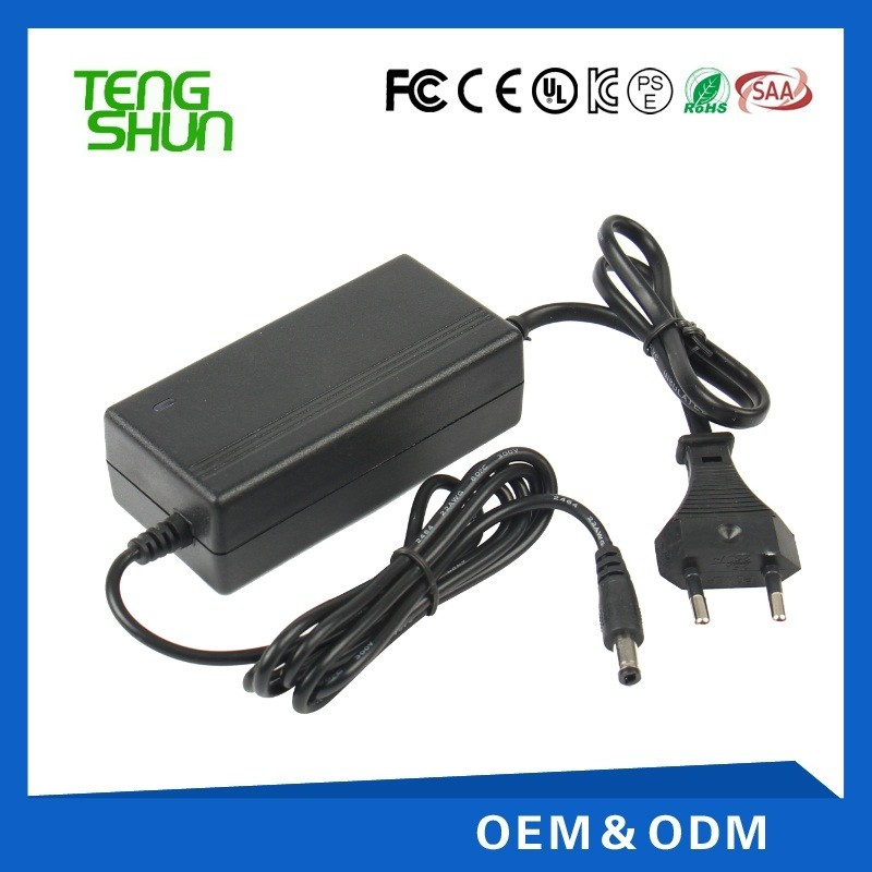 universal 12v 3a desktop switch power adapter 12v 3a with AC power cord