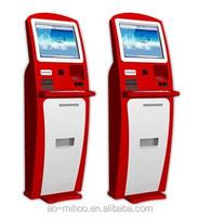 OEM 17''19'' Automatic self service ordering payment kiosk machine/bill payment kiosk/Card Reader cash Payment Kiosk Terminal
