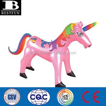 Salvajes Juguetes Hacer Inflable Animal Salvaje Unicornio Pvc De Juguete Vinilo hacer Personalizado Animales Unicornio Buy Fábrica Del vOyNPmw08n