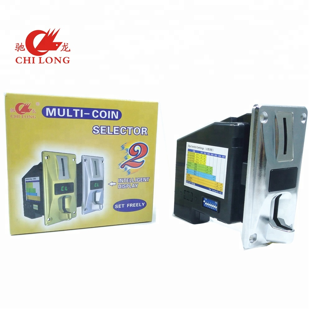 Chi Long CL-168 Multi coin acceptor for massage chair