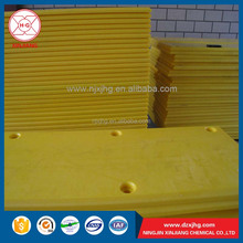 Customized pe uhmw sheet boat and dock protection pads