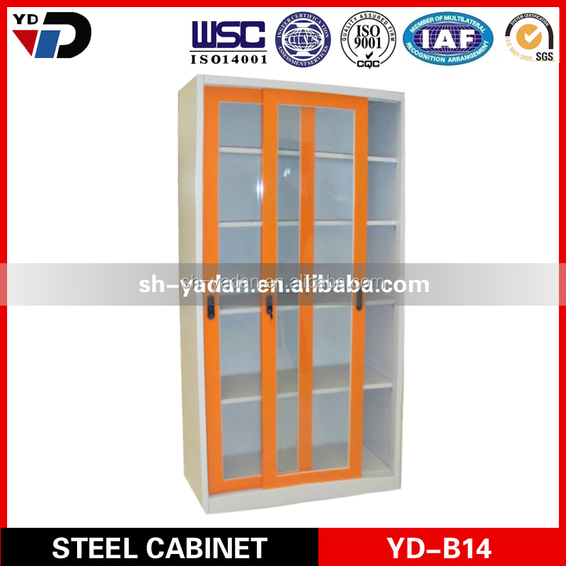 metal furniture factorie luxurious jewelry wall cabinet glass doors and wall mount glass display cabinets