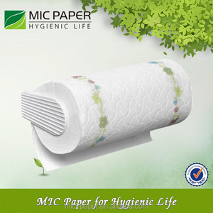 Factory direct sale bamboo paper towel