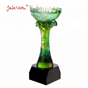 High quality crystal award and trophy cup for business gift