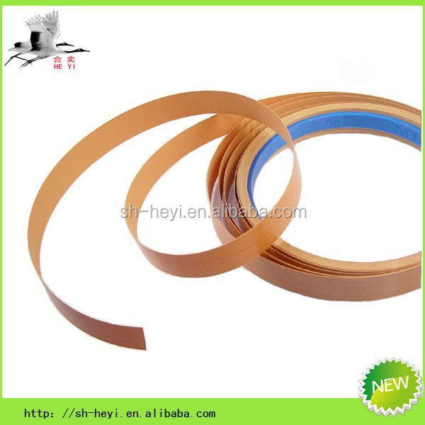 new wood and solid color pvc edge plastic tape
