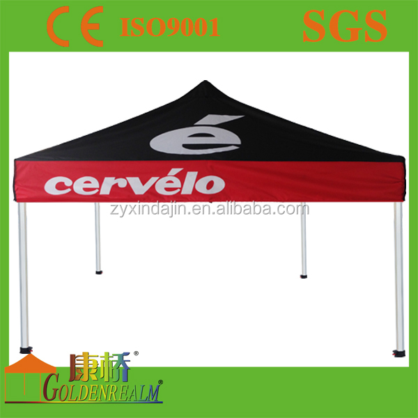 cheap dye-sub printing $2/sqm easy up uv protection polyester ez up canopy