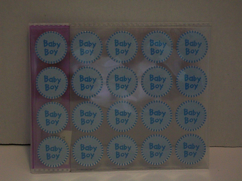 Baby Boy invitation envelope Stickers - Baby Boy Stickers - Favor Stickers - Baby Shower Favor Stickers - Baby Boy Stickers - Set of 100 Stickers