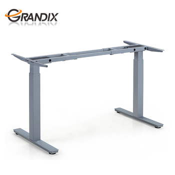 Hot Sale Electric Rising Height Adjustable Standing Table Leg That Raise  And Lower With Two Motor