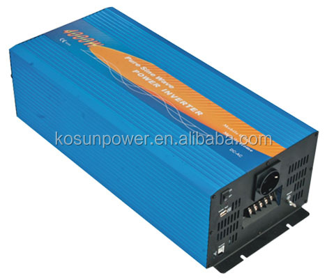 Power Inverter 4kw 24VDC to 220VAC Pure Sine Wave