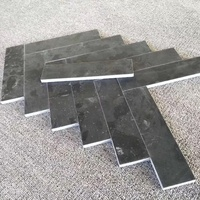 Patio Black Travertine Stone Paver Tiles