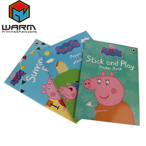 Factory customized Film Lamination Surface Finish and Paper & Paperboard Product Material Kid story reading comic book