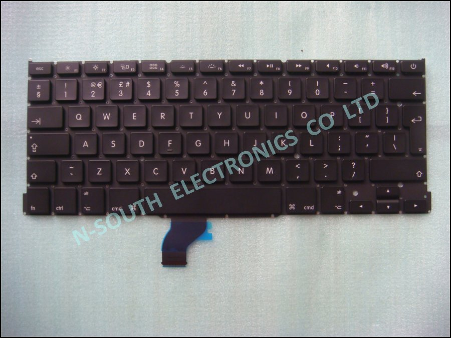 New Laptop Keyboard For Apple A1502 Uk Black
