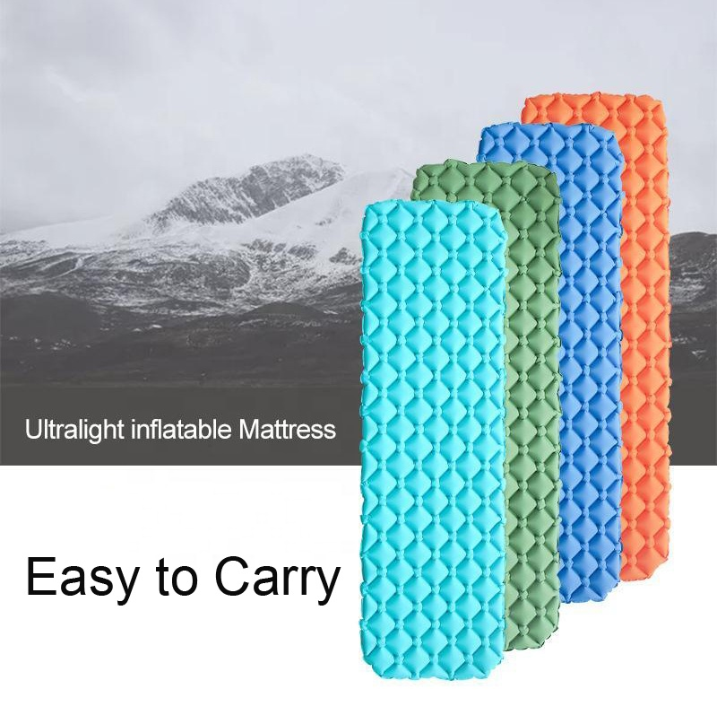 Inflatable Camping Mat Outdoor Air Mattress for two