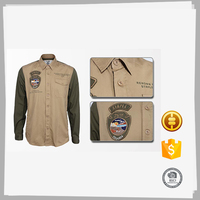 High quality different types mens indian cotton long sleeve fishing shirts