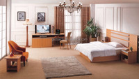 Hotel Bedroom Furniture High Quality Solid Wood Modern Interior Design