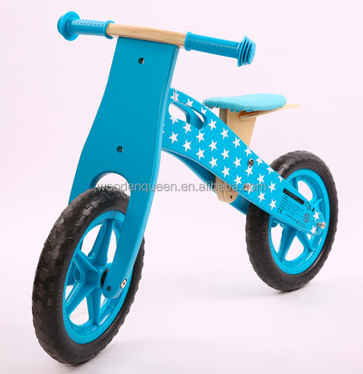Mini Kids Car Wooden Balance Bikes YZ064 Pedal Balancing Car Bicycle Kid Toy wooden bicycle for toddlers