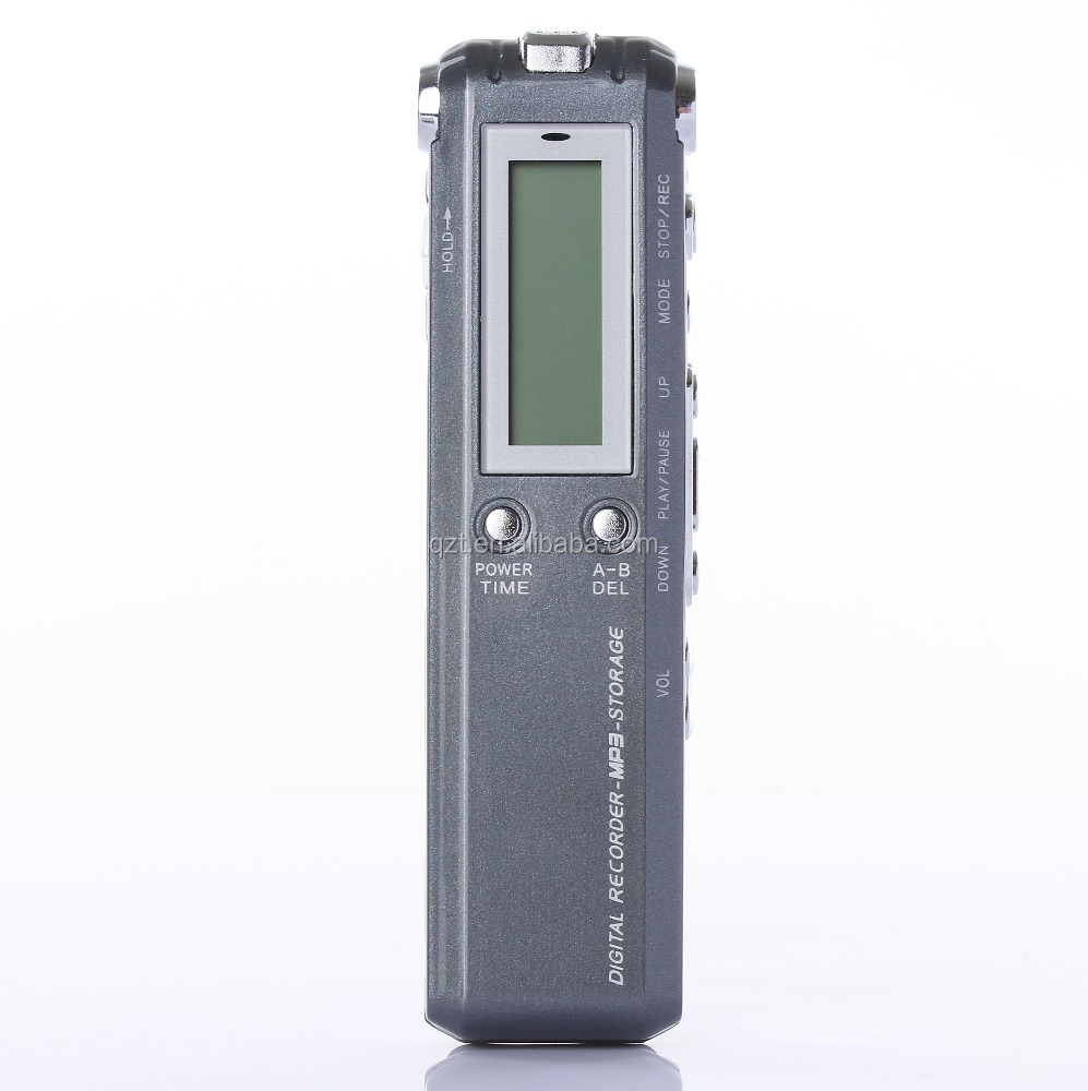 Professional Long Battery Life 8GB usb flash drive Mini Dictaphone with sd card socket digital video recorder with LCD Display