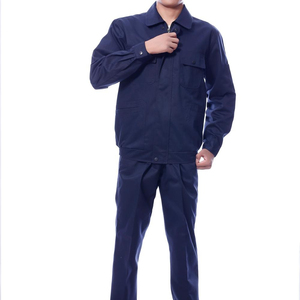 Most popular new design dark blue polyester,cotton coverall work wear uniform