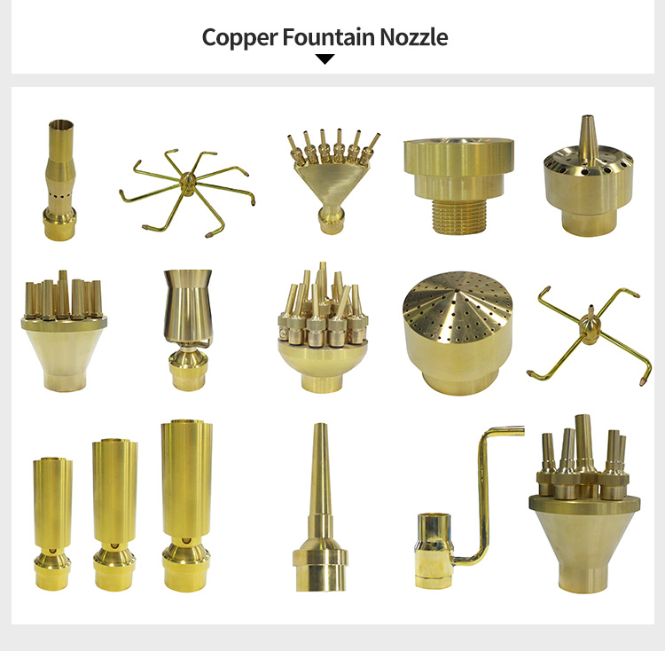 copper fountain nozzle