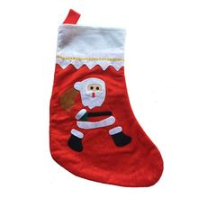 Main product Xmas gift packing luxury durable bulk christmas stockings