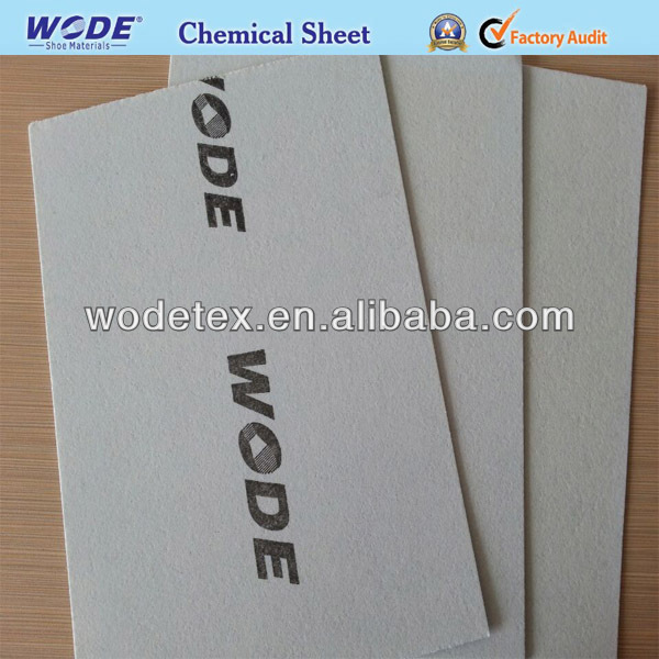 Nonwoven Chemical Sheet For Shoe Lining Materials WODE COMPANY