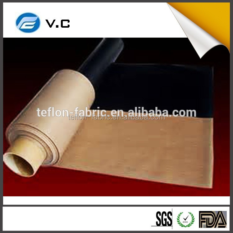 China manufacturer best sale ptfe teflon coated high temperature fiberglass cloth importer price