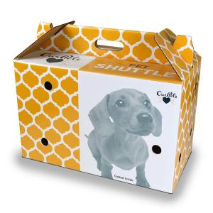Printing High Quality Cardboard Pet Carrier Wholesale