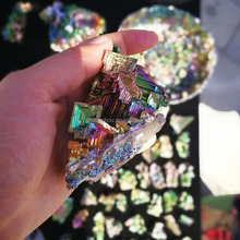 Wholesale Natural Fancy Bismuth Mineral Ore Crystals