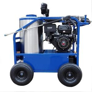 Gasoline hot water 3600psi power line high pressure washer