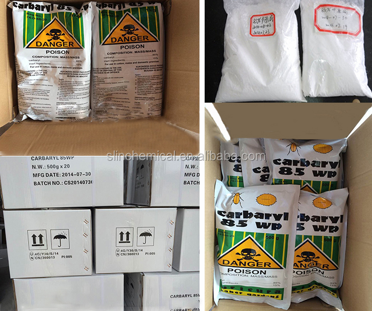 Top Quality Agrochemical Pesticide Carbaryl Insecticide 99%TC 98%TC 85%WP 50%WP 25%WP Carbaryl Powder