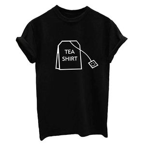 Wholesale Funny T-shirts Teen Girl Boy Funny T Shirts Women Cute Tops Junior Graphic Tee 95 Cotton 5 Spandex Custom T Shirt